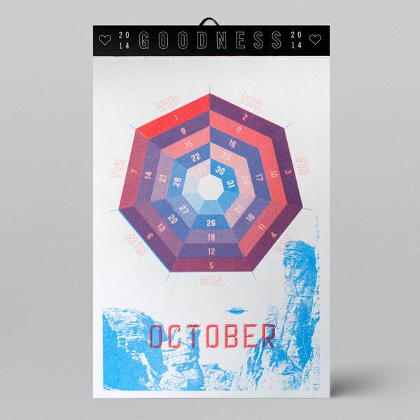 W+K Studio: 2014 Calendar / on Design Work Life