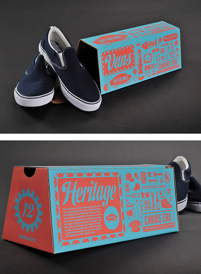 Nate Eul / Packaging concept - Vans
