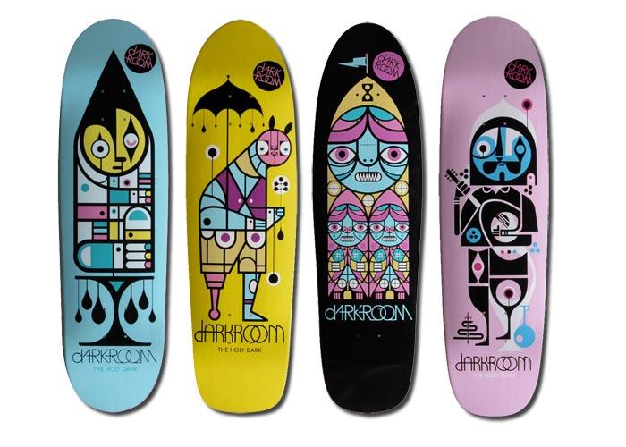 Don Pendleton / Skate deck graphics