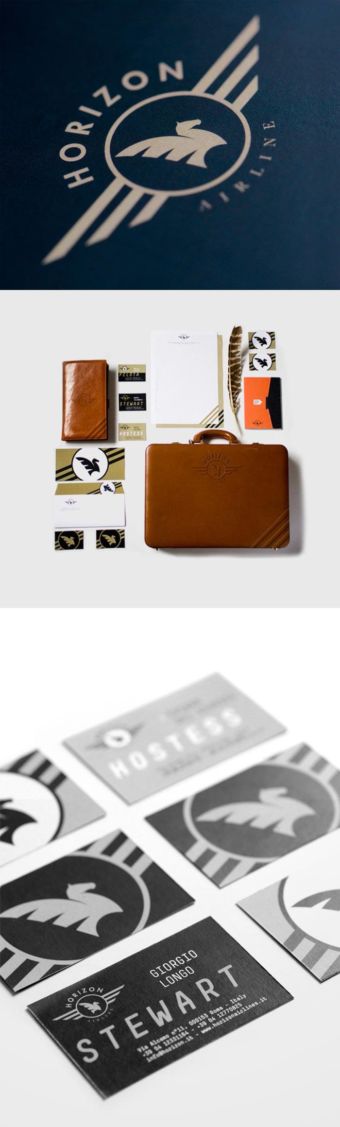Daniele Simonelli / Brand identity concept - Horizon Airline