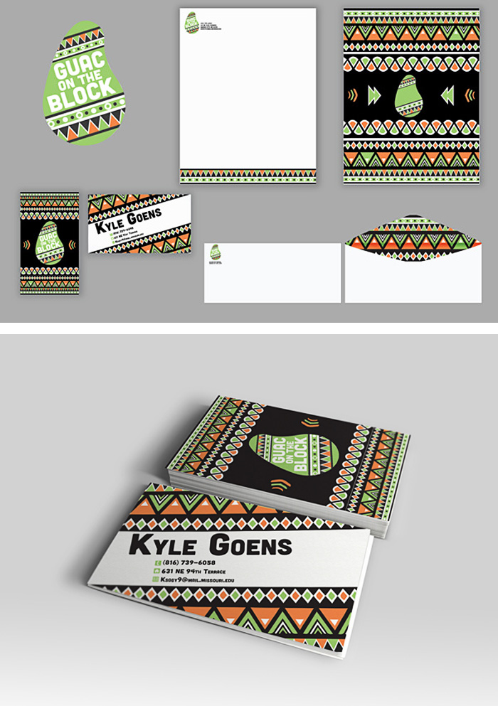 Kyle Goens / Branding - Guac on the Block
