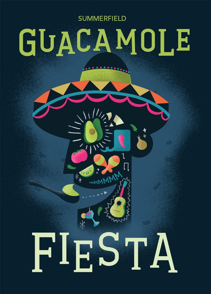 Adam Koon / Branding concept - Summerfield Guacamole Fiesta
