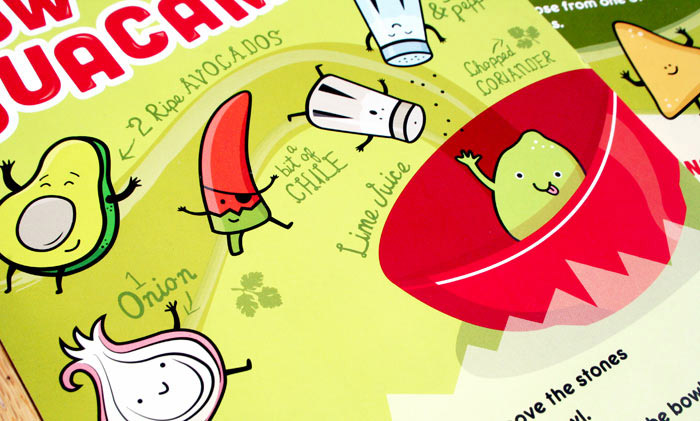 Root Studio / Kids menu design - Mission Burrito