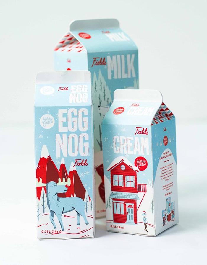 Luke Klenske / Illustration & packaging concept - Fields
