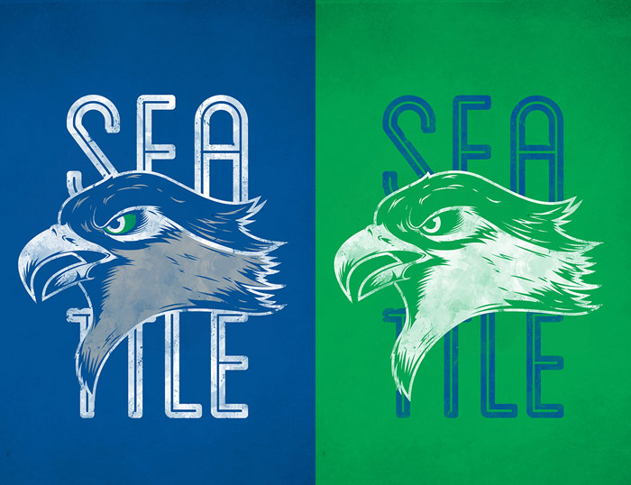 Dane / Logo concept - Seattle Seahawks