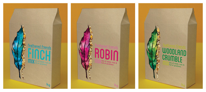Emma Di'luorio / Packaging concept - Feathered Friends