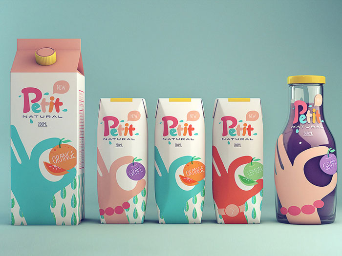 Isabela Rodrigues / Packaging concept - Petit