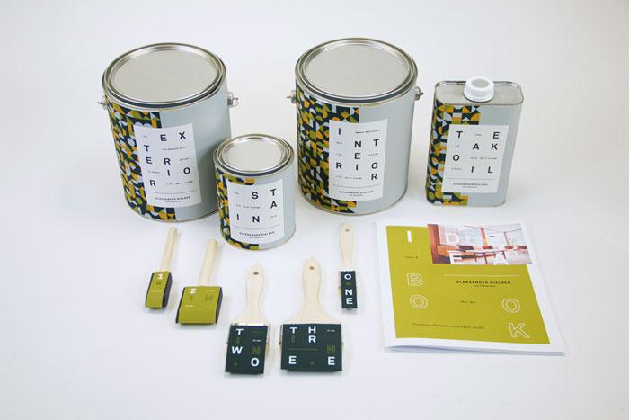 Josh White - Aleksander Nielsen Paint Collection / on Design Work Life