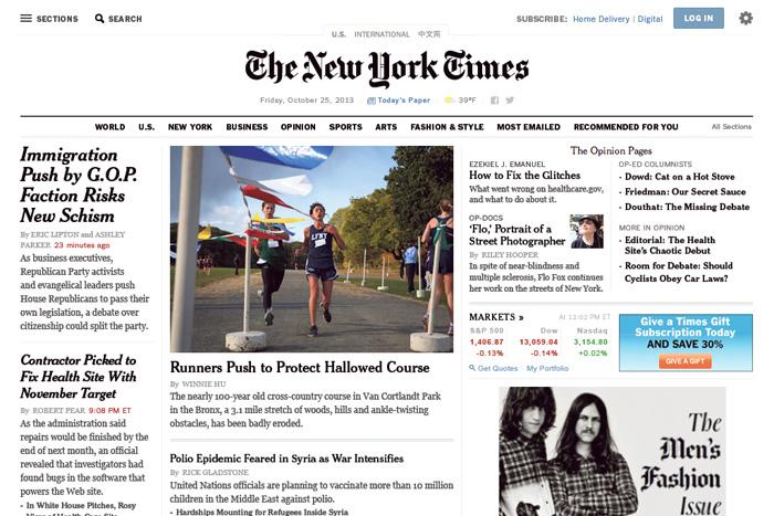 New York Times Redesign � Design Work Life -1