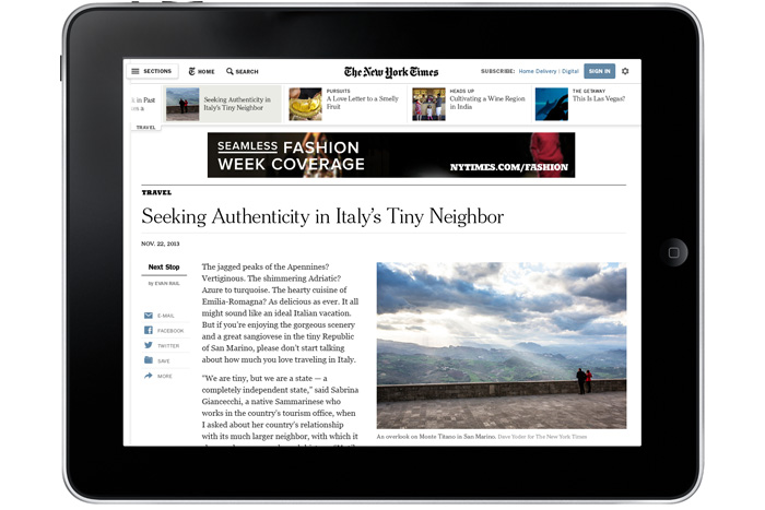 New York Times Redesign — Design Work Life -2