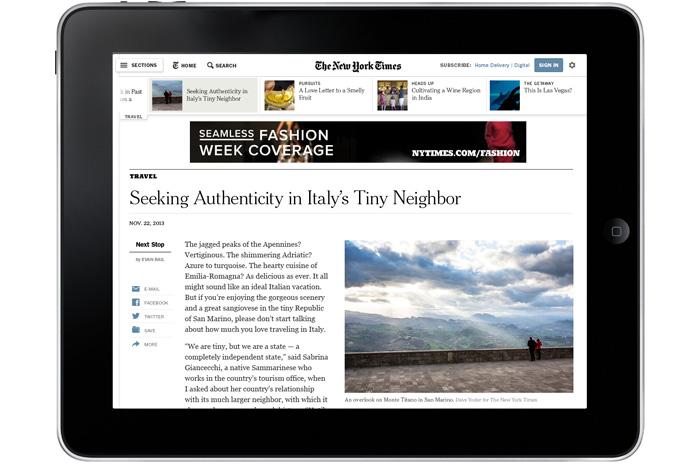 New York Times Redesign � Design Work Life -2