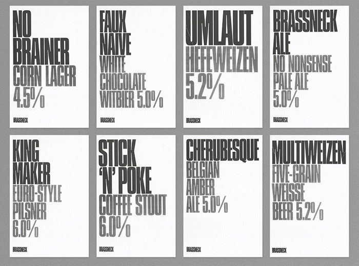 Post Projects: Brassneck Brewery / on Design Work Life 2.18.01 PM