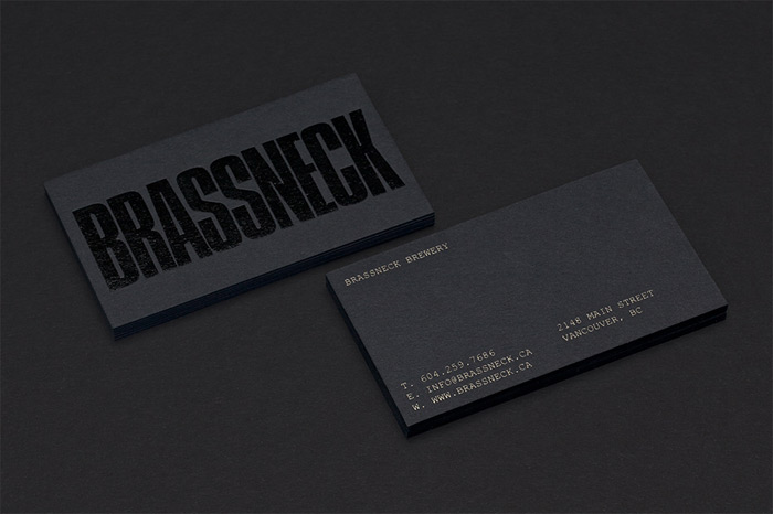 Post Projects: Brassneck Brewery / on Design Work Life