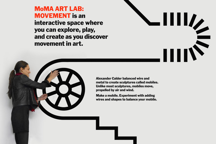 Tony Lee Jr.: MoMa Art Lab, Movement / on Design Work Life