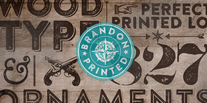 Type Love: Brandon Printed / on Design Work Life
