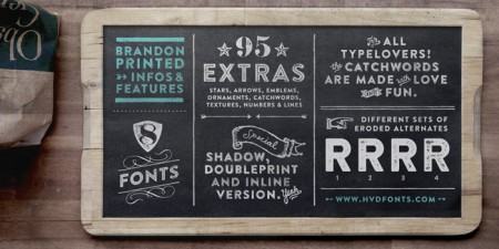 Type Love: Brandon Printed / on Design Work Life