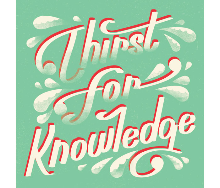 Alliteration Inspiration: Knowledge & Knives / on Design Work Life