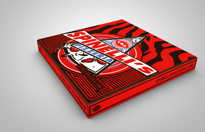 Jeremy Richie / Packaging design - Spinelli's Pizzeria