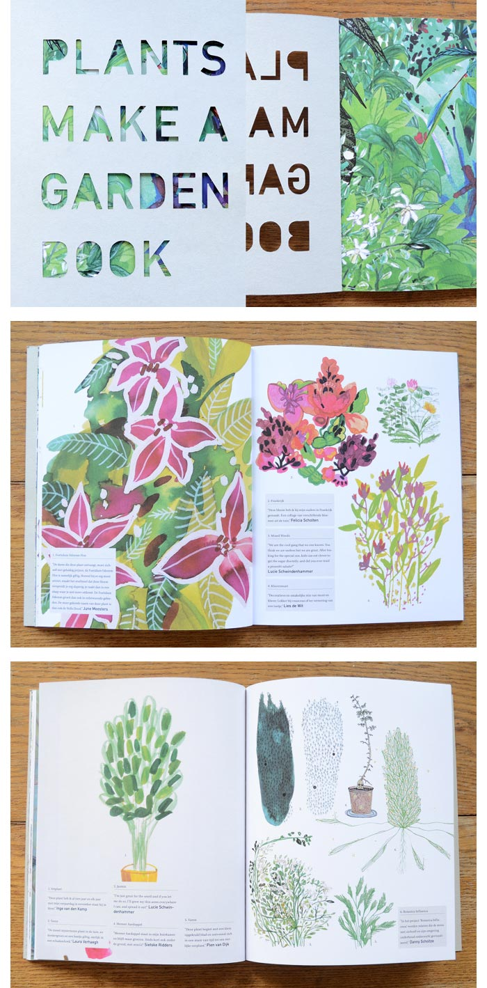 Lotte Dirks / Illustration & book design - Plants Make a Garden