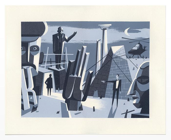 Chris Turnham Prints / on Design Work Life
