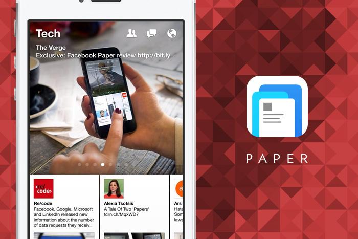 Facebook Paper - Design Work Life