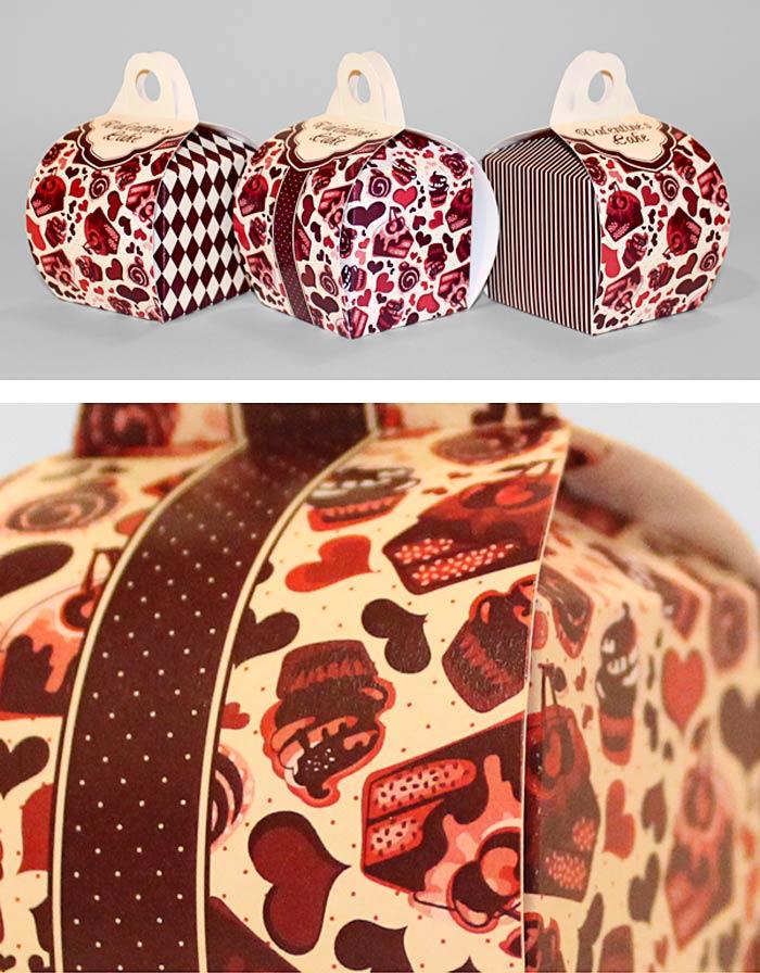 Cult Cat / Packaging design - Valentine's Cake