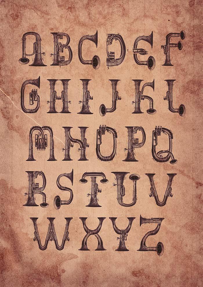Kartika Kosasih / Typeface concept - Honk