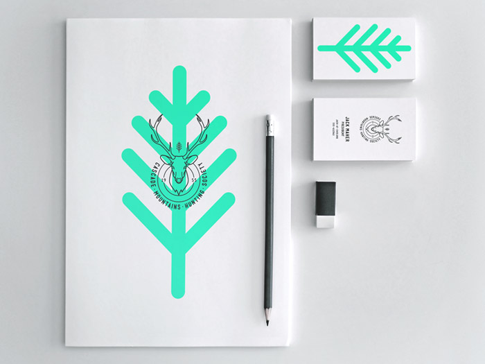 Mathias Temmen / Stationery - Hunting Society