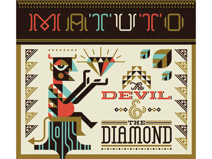 Ty Wilkins / Album art - by The Devil & the Diamond by Matuoto