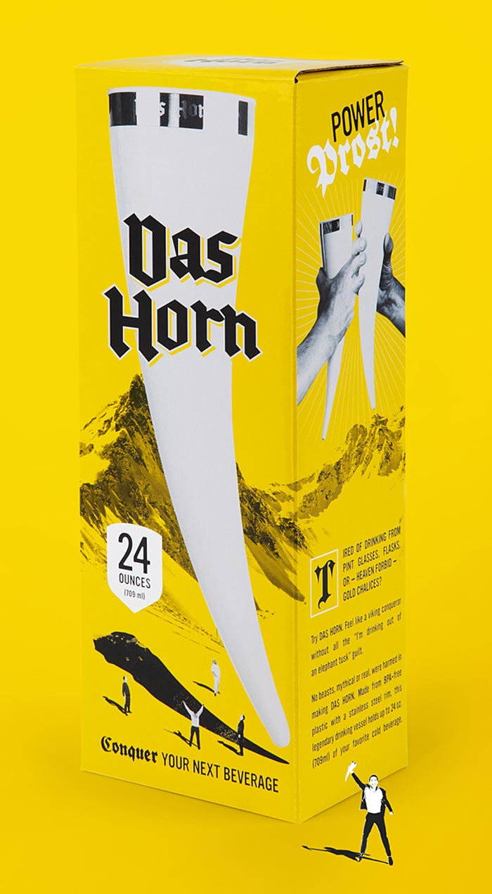 Hype & Slippers / Packaging - Das Horn