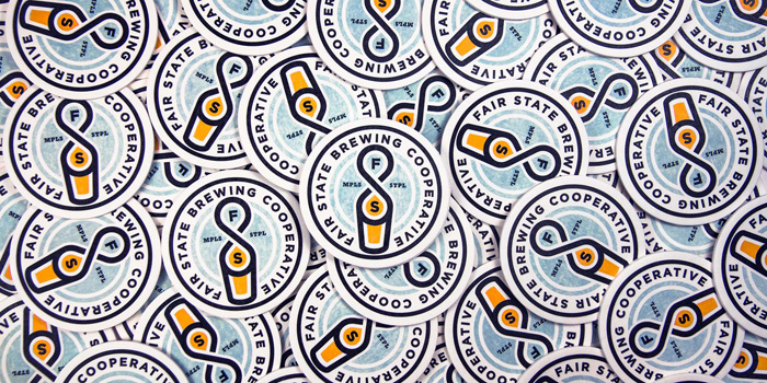 Little: Fair State Brewing Identity and Collateral / on Design Work Life