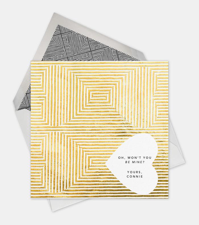Paperless Post Valentines / on Design Work Life