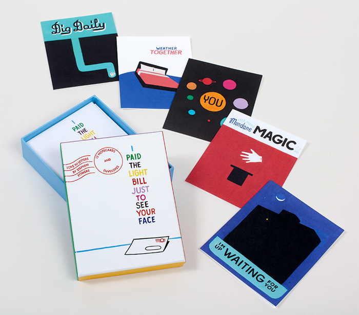 Stephen Powers: Love Letter Notecards / on Design Work Life