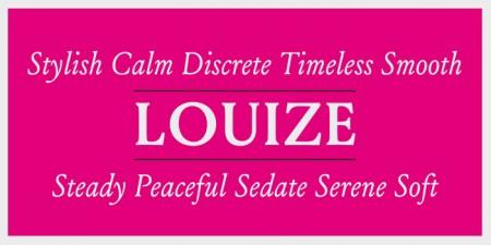 Type Love: Louize / on Design Work Life