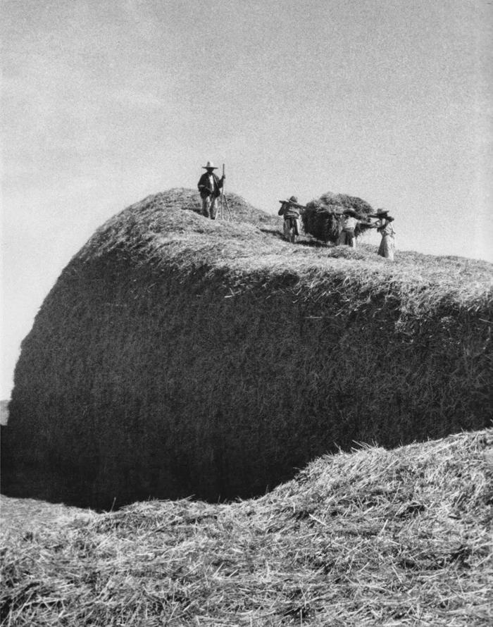 Los almiares, ~1940