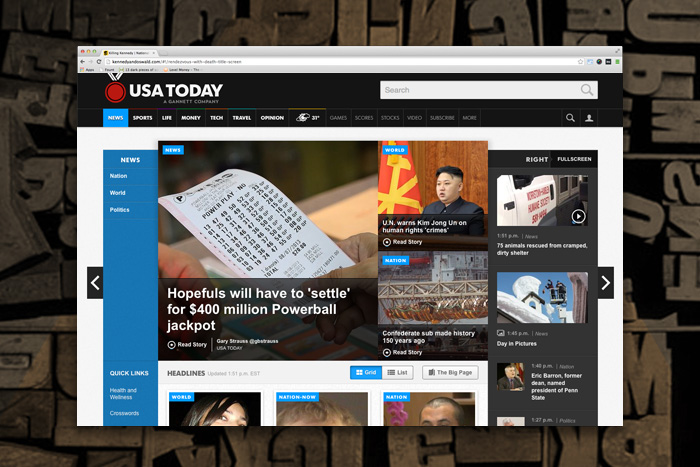 publishing design - USA Today - Design Work Life