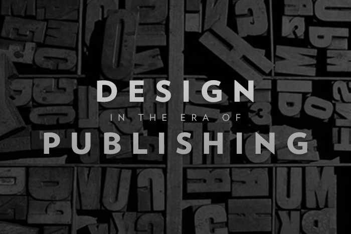 publishing design - design work life
