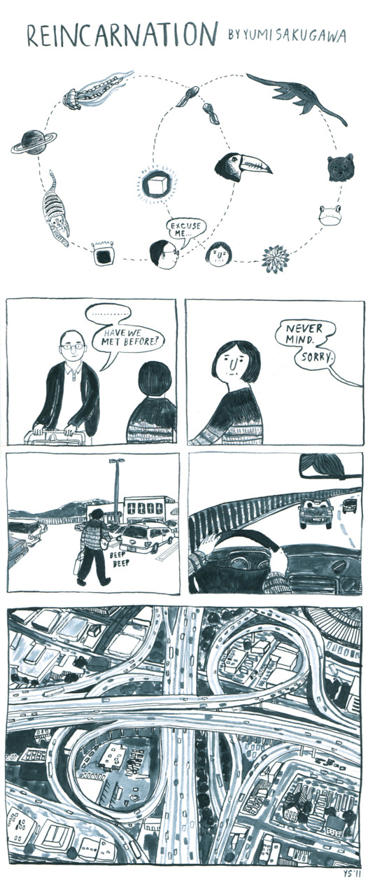 Comics by Yumi Sakugawa / on Design Work Life