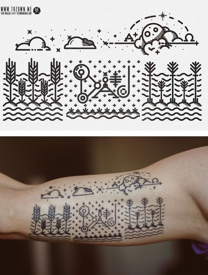 Kirk Wallace / Illustration & tattoo design