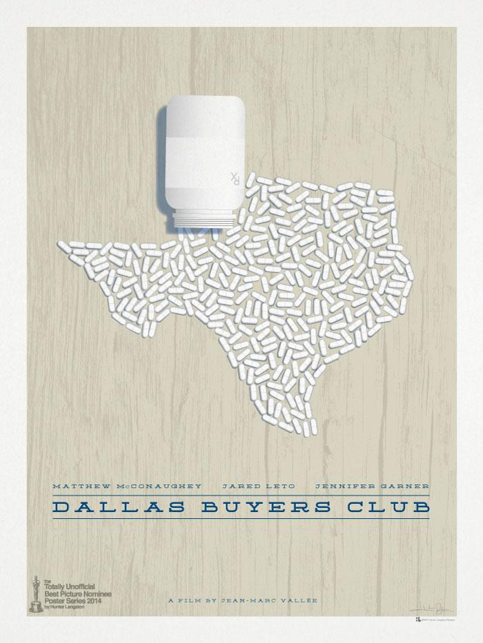 Hunter Langston / Movie poster - Dallas Buyers Club