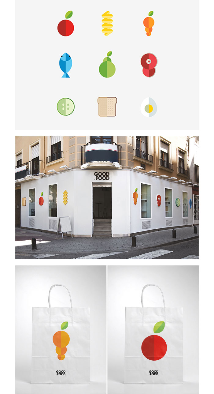 Alberto Saor�n / Branding - Good Food
