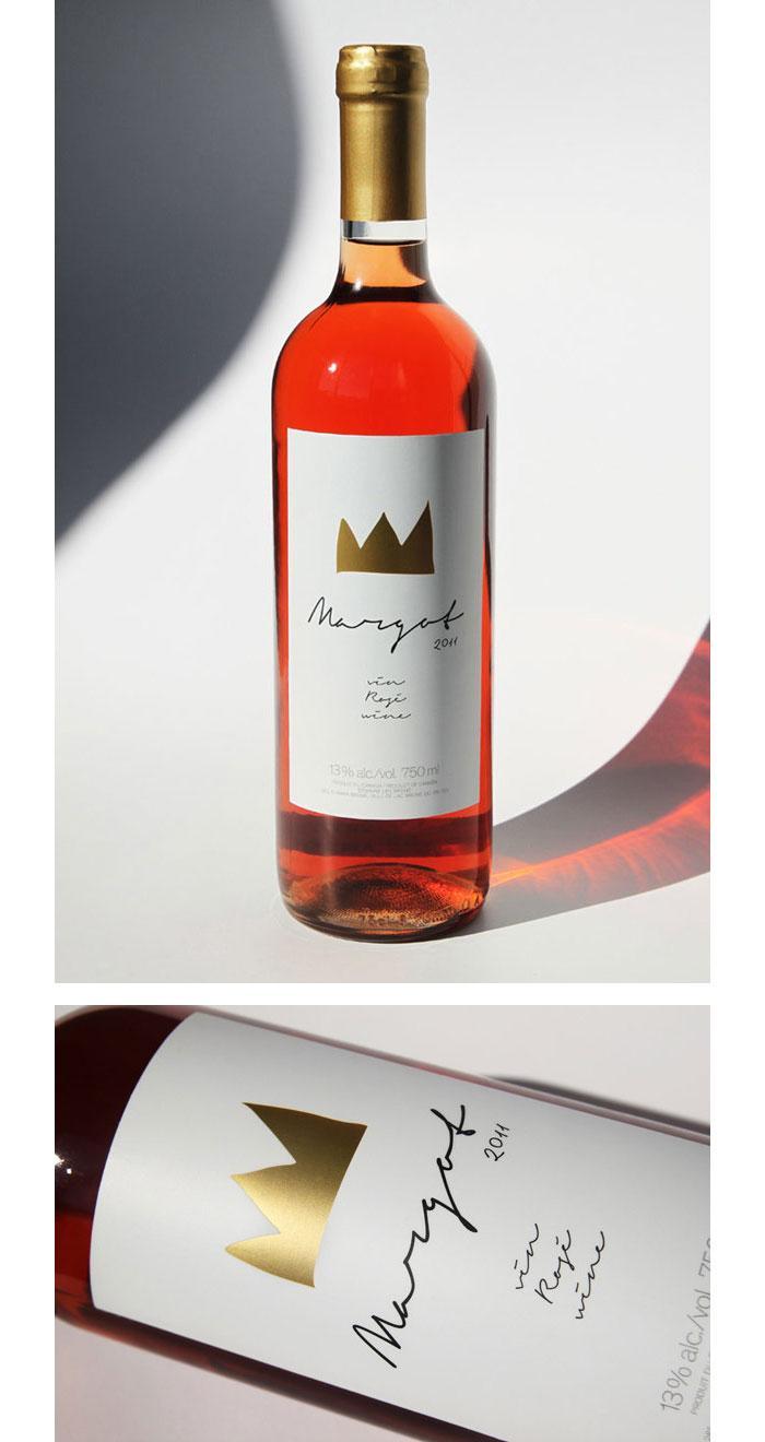 Paprika / Wine label - Cuvée Margot Rosée