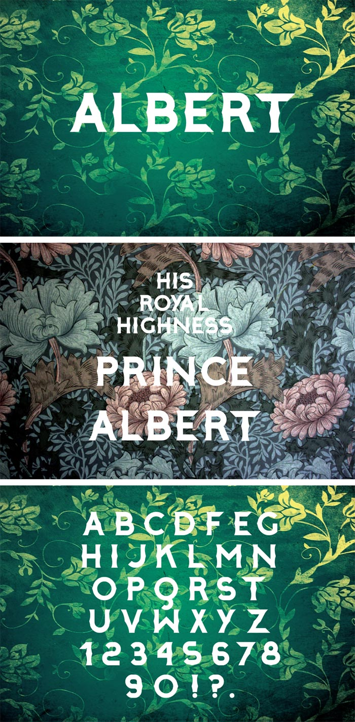 Bayley Design / Typeface - Albert