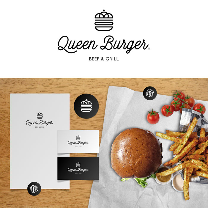 Lange & Lange / Restaurant design - Queen Burger