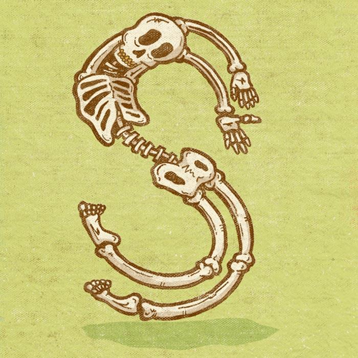 Chris Dedinsky: Monster Alphabet / on Design Work Life