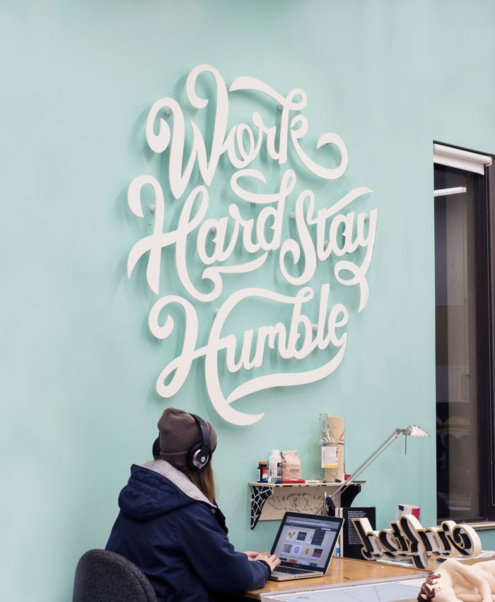 Clarke Harris: Work Hard Stay Humble / on Design Work Life