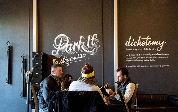 Deuxtone: Dichotomy Coffee & Spirits / on Design Work Life