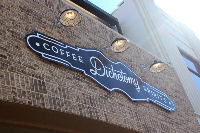 Deuxtone: Dichotomy Coffee & Spirits / on Design Work Life
