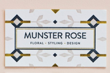 MaeMae Paperie: Munster Rose Stationery / on Design Work Life