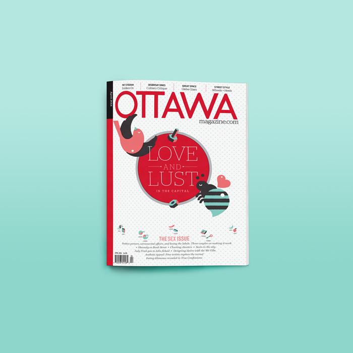 Michael Haddad: Ottawa Magazine, The Sex Issue / on Design Work Life